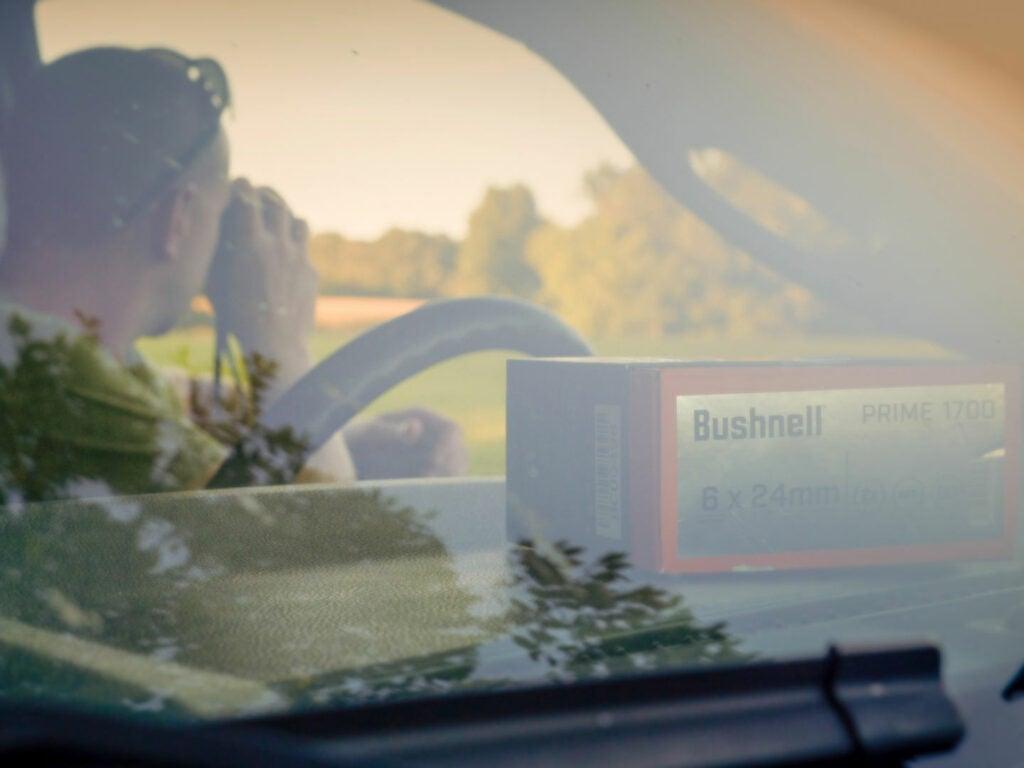 bushnell box dashboard rangefinders