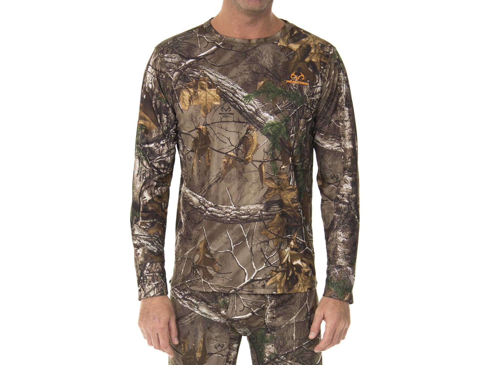 Realtree Men's Ultimate Cold Gear Fitted Baselayer Top