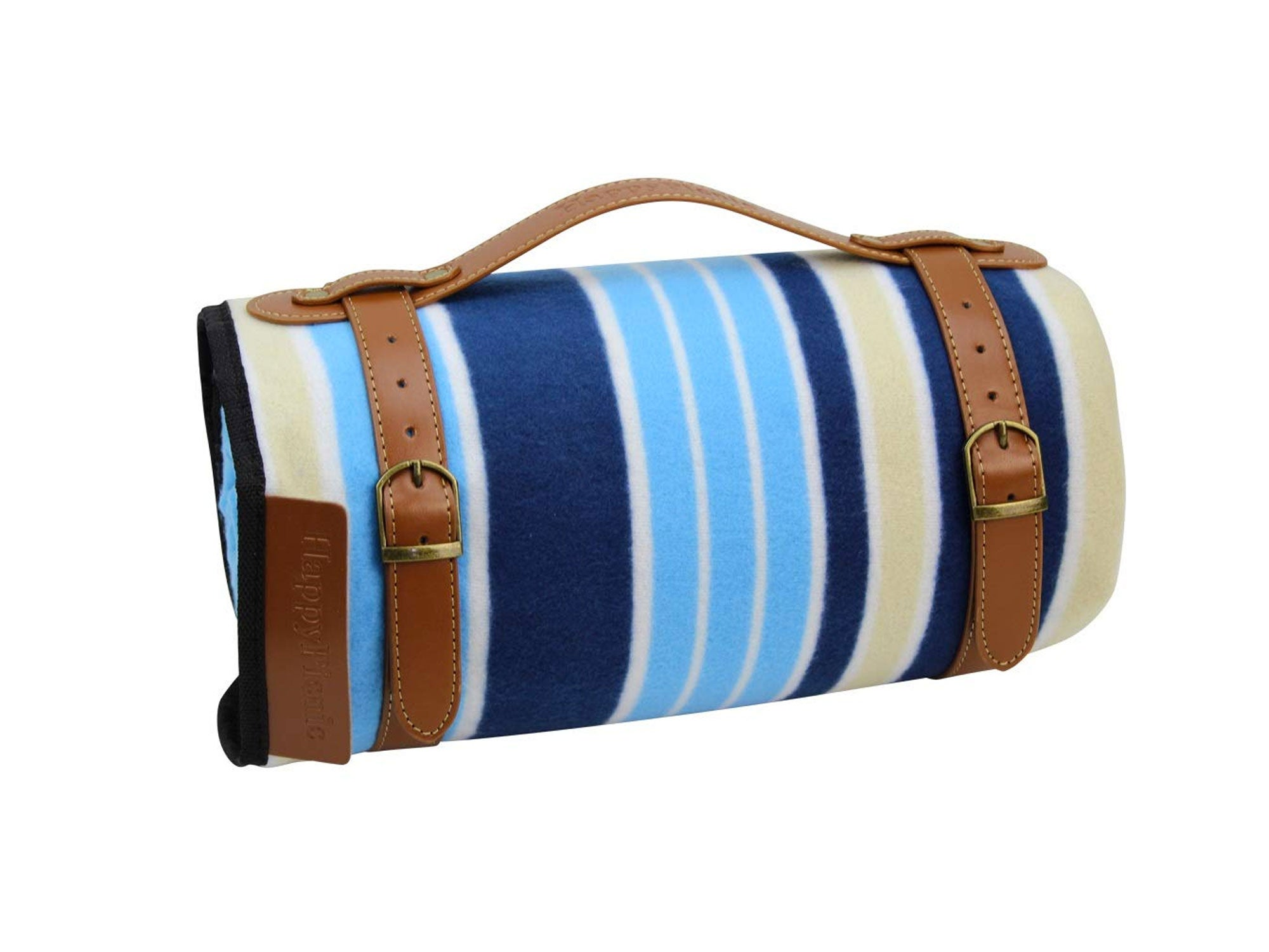 HappyPicnic Extra Large Striped Outdoor Blanket