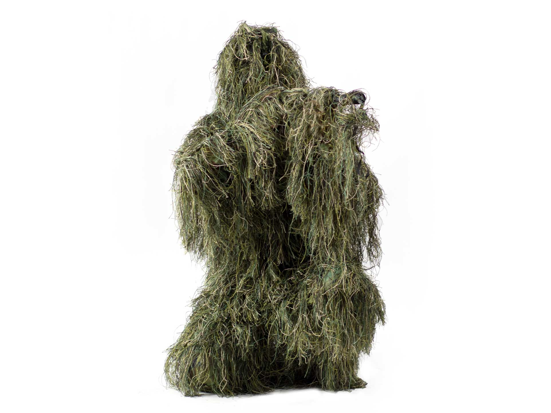 Ghillie suit in woodland camo