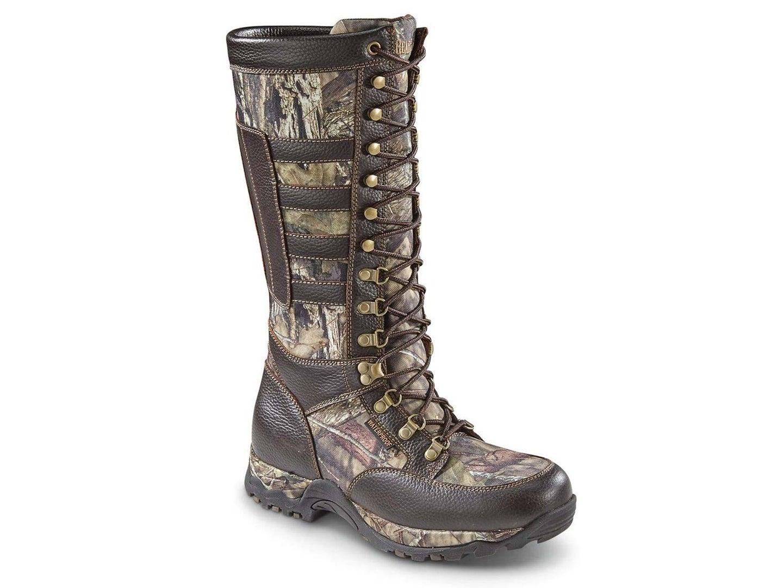 Guide Gear Waterproof Leather Snake Boots