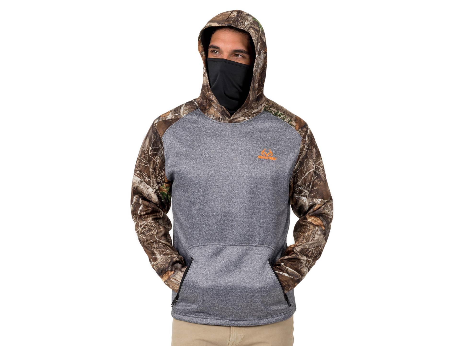 Realtree hunting fleece hoodie