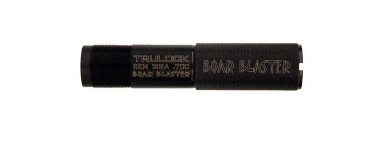 The Boar Blaster, from Trulock Chokes, did a good job of patterning cheap buckshot loads.