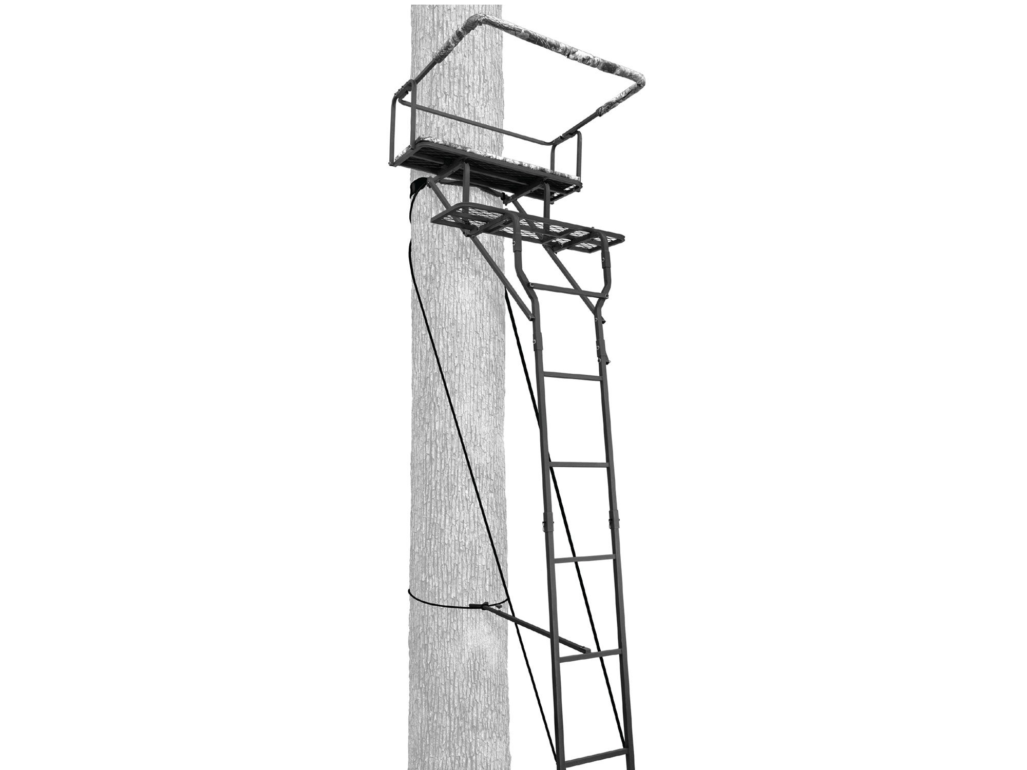 Two-man Ladderstand w/ Realtree Padded Seat