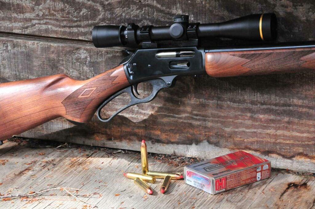 444 marlin rifle and deer hunting ammo