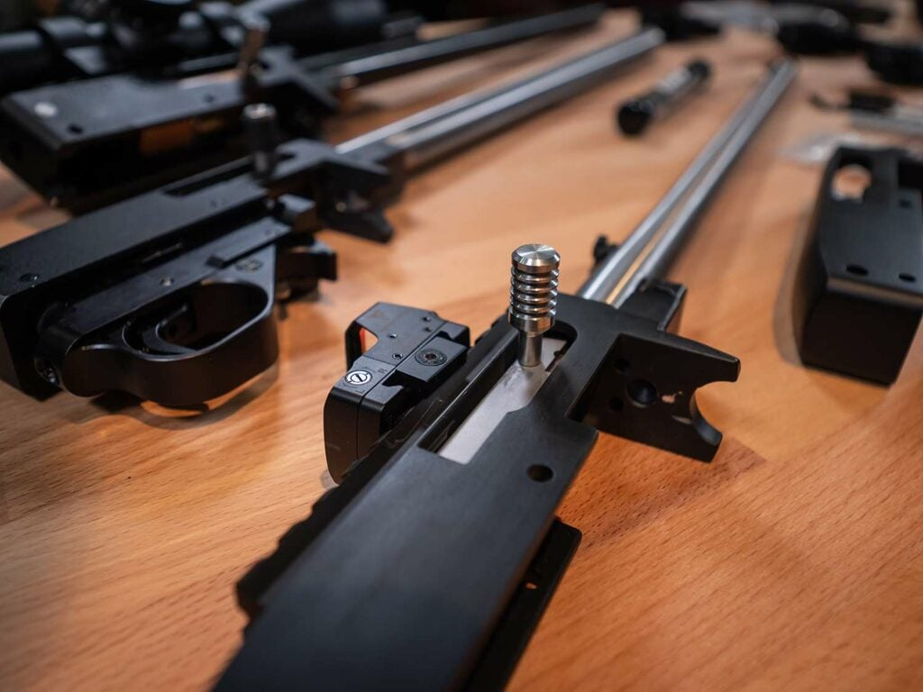 custom ruger rifle receiver bolt action rifle