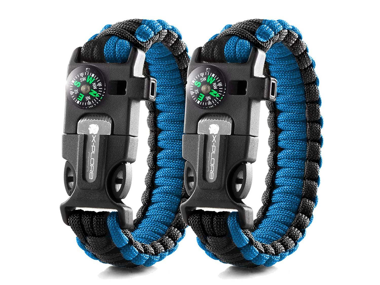 X-Plore Emergency Paracord Bracelets
