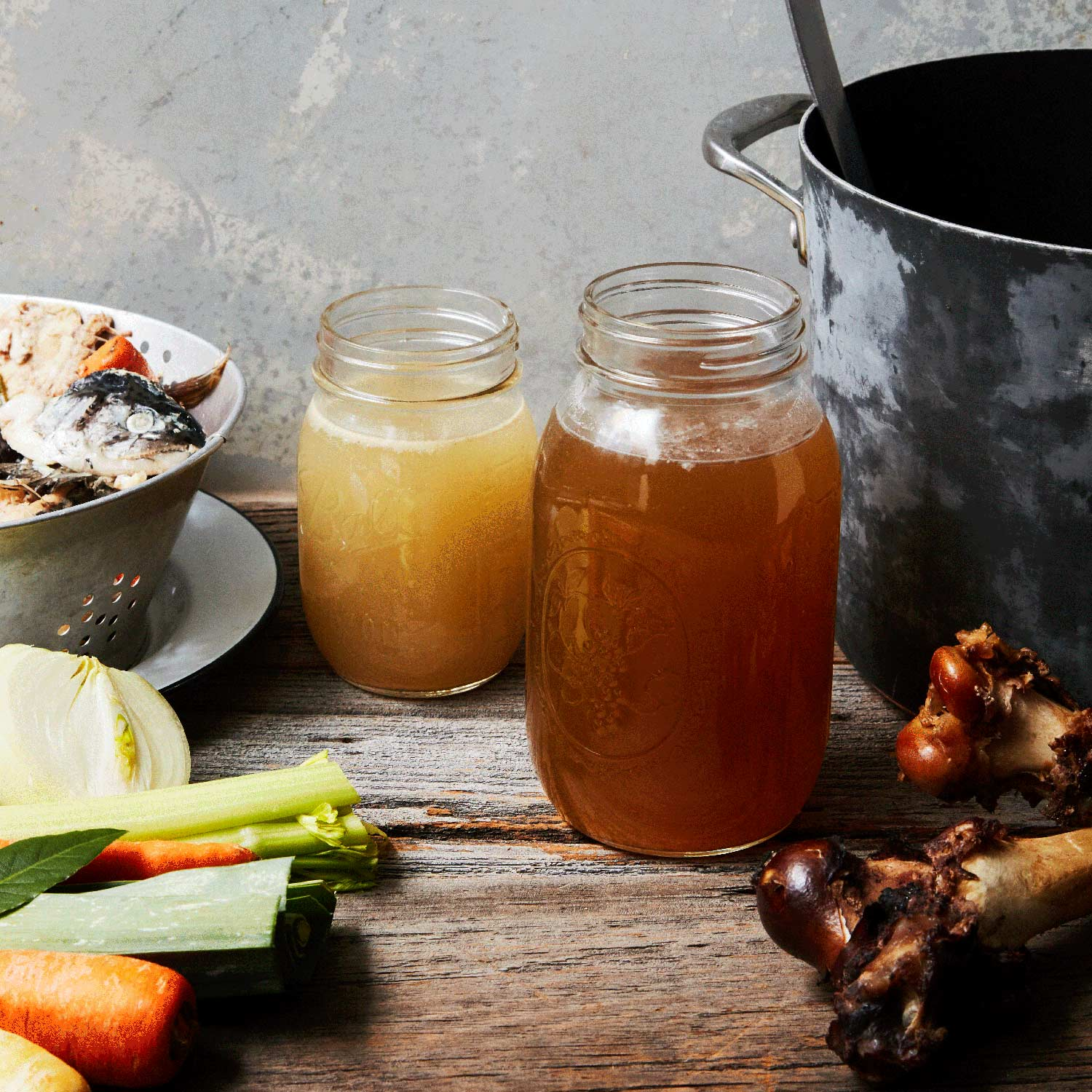 How to Make Wild Game and Fish Stock