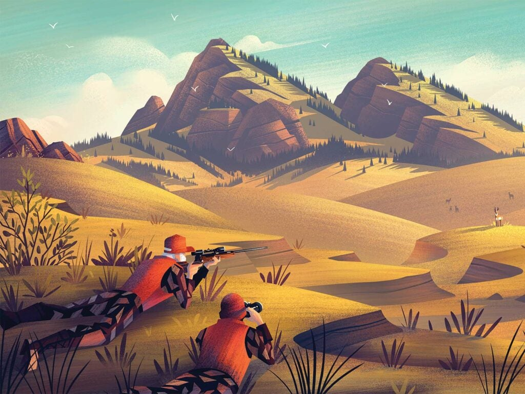 httpspush.fieldandstream.comsitesfieldandstream.comfilesimages201910two-hunters-illustration-antelope-hunting.jpg
