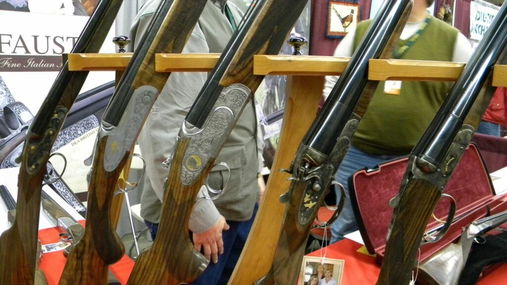 A selection of Fausti Stefano doubles and o/u's from Pheasant Fest in Des Moines.