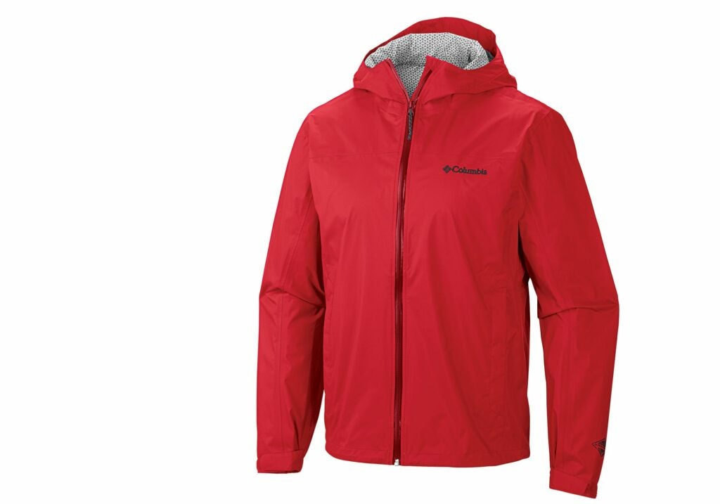 Compared with the Marmot, the EvaPOURation has more substantial and supple fabric.