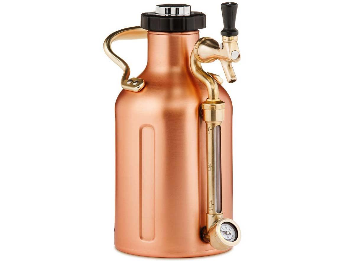 GrowlerWerks 64oz. Copper uKeg Carbonated Growler