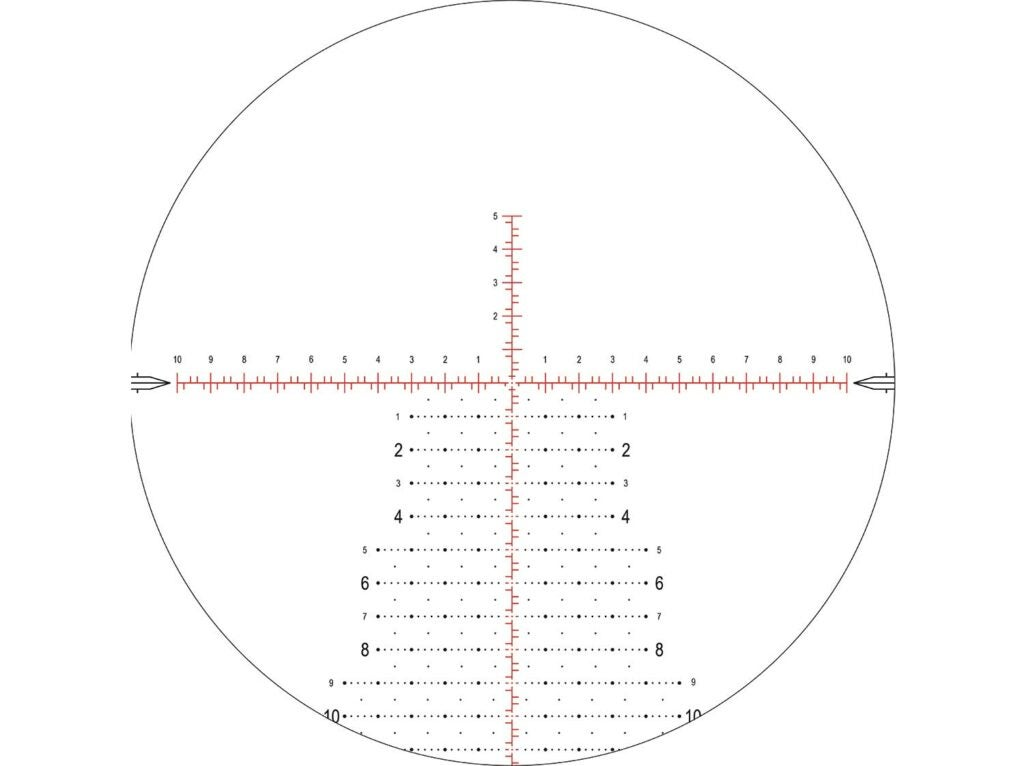 Nightforce Mil-XT Reticle