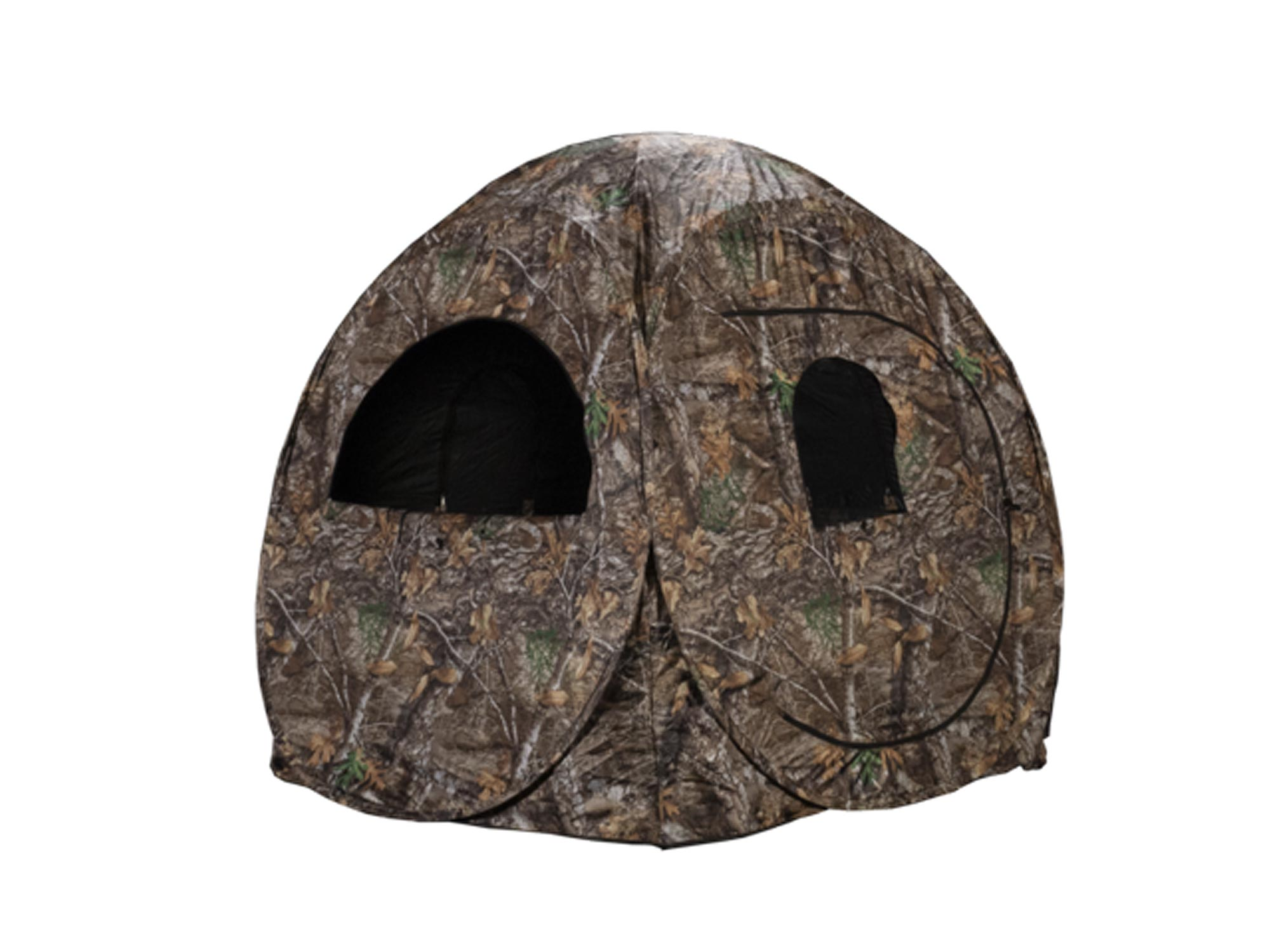 Camo hunting blind
