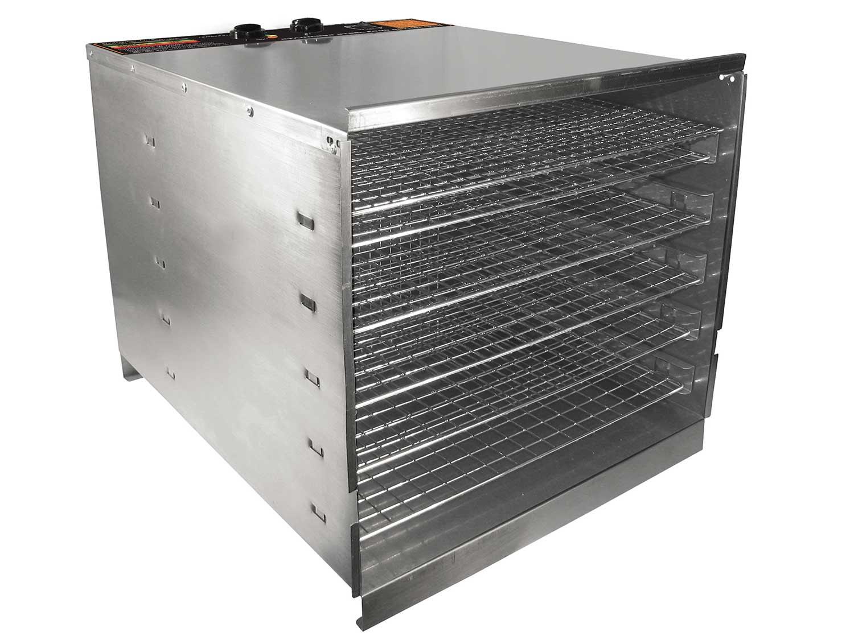 Weston Pro 1,000 Stainless Steel 10 Tray Dehydrator
