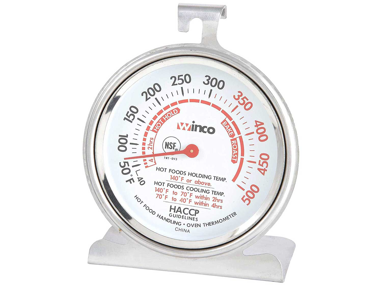 Winco TMT-OV3 B001B4KUPY 3-Inch Dial Oven Thermometer