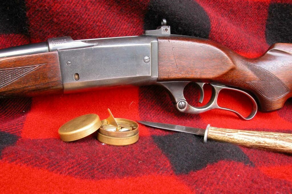 Savage Model 99 lever action rifle