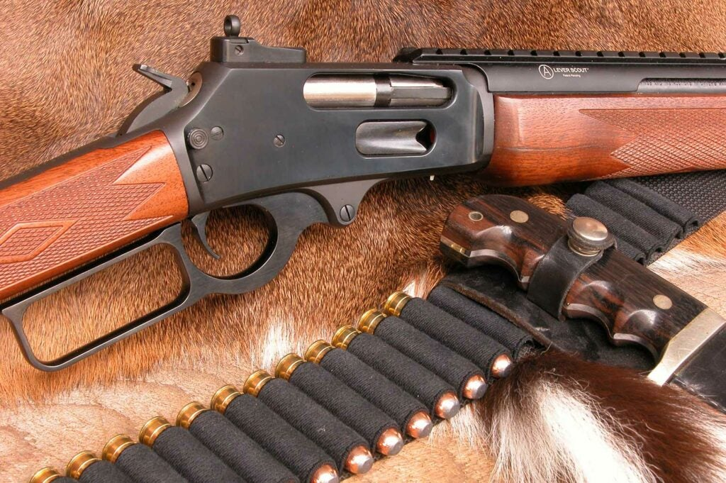.450 Marlin and hunting gear and ammo