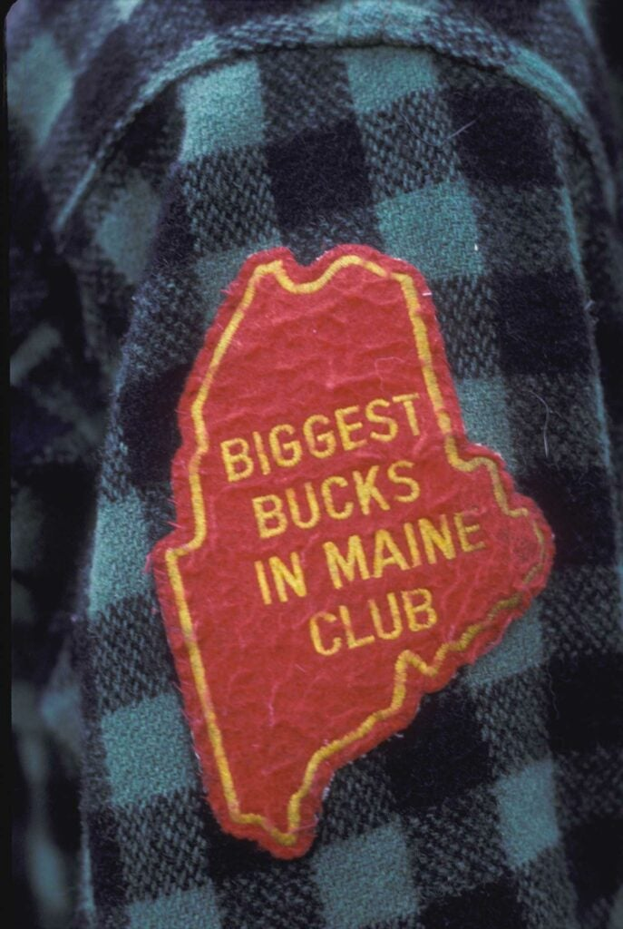 the biggest bucks in maine club hunting patch