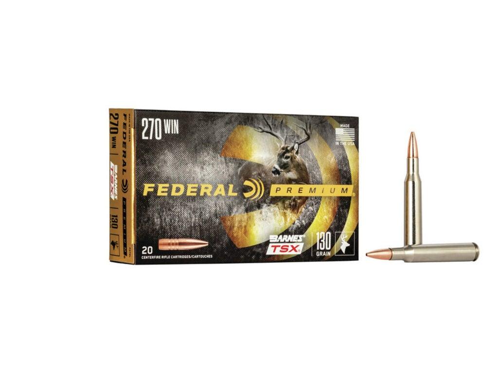Federal Premium Barnes TSX 130-grain .270