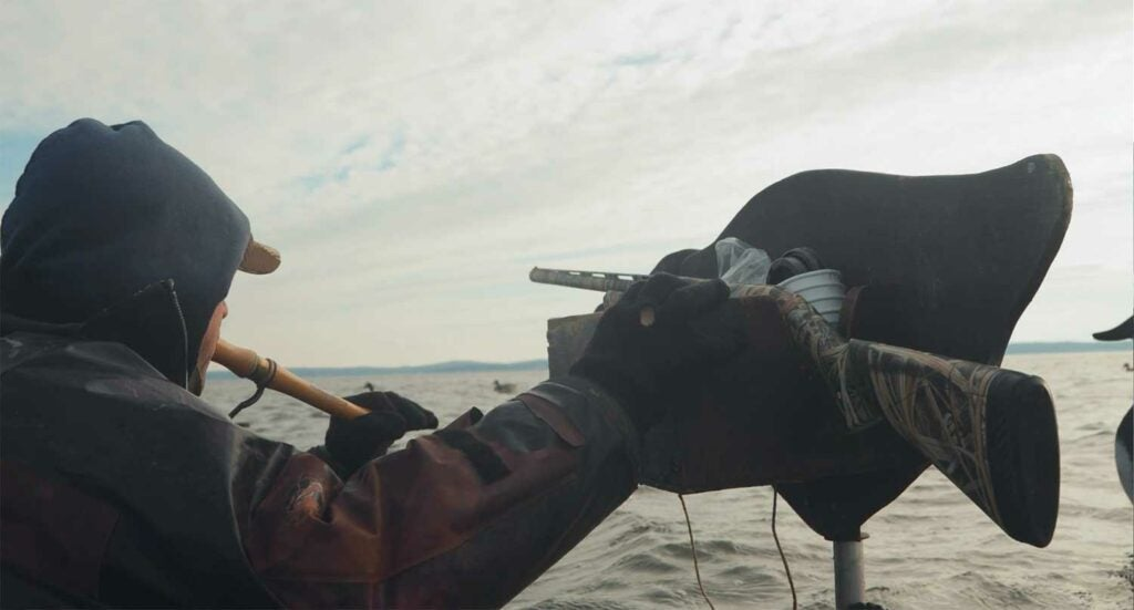 chesapeake bay duck hunting body booting