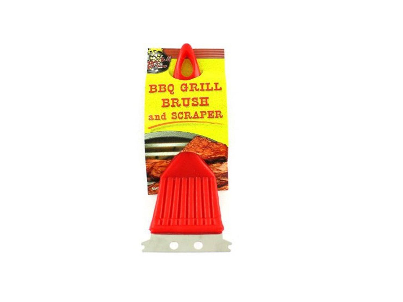 48 Pack of bbq grill brush w/ scraper plastic