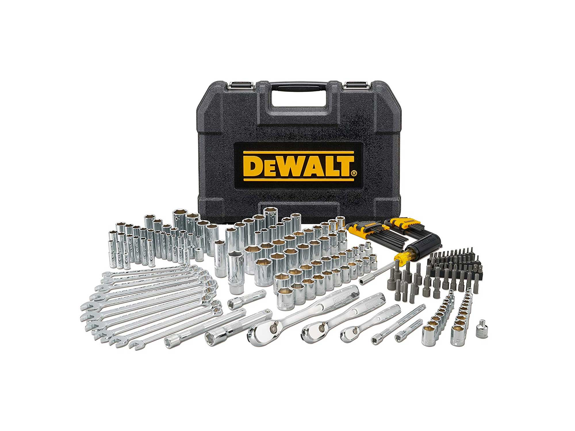 Dewalt toolset