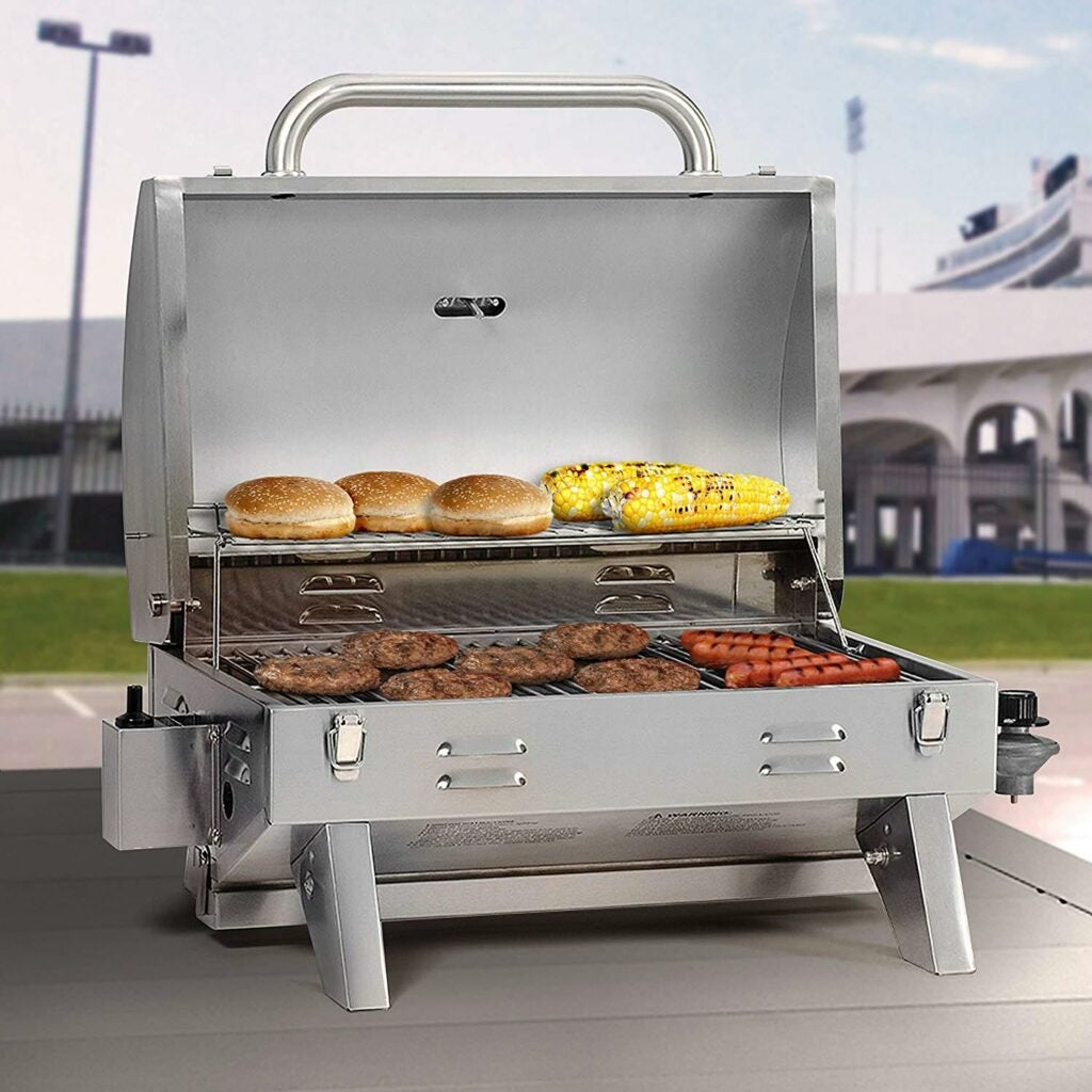 Masterbuilt Stainless Steel Gas Grill,