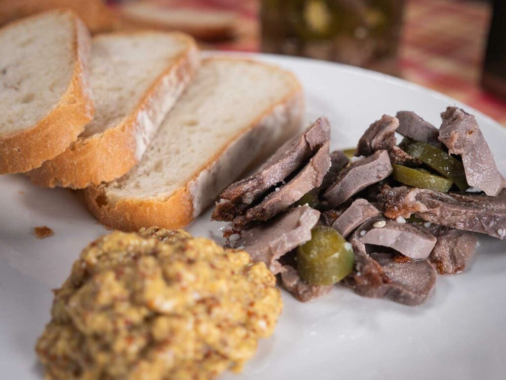 a pickled venison tongue recipe.