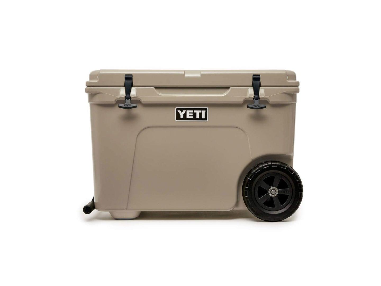 Yeti hauling cooler