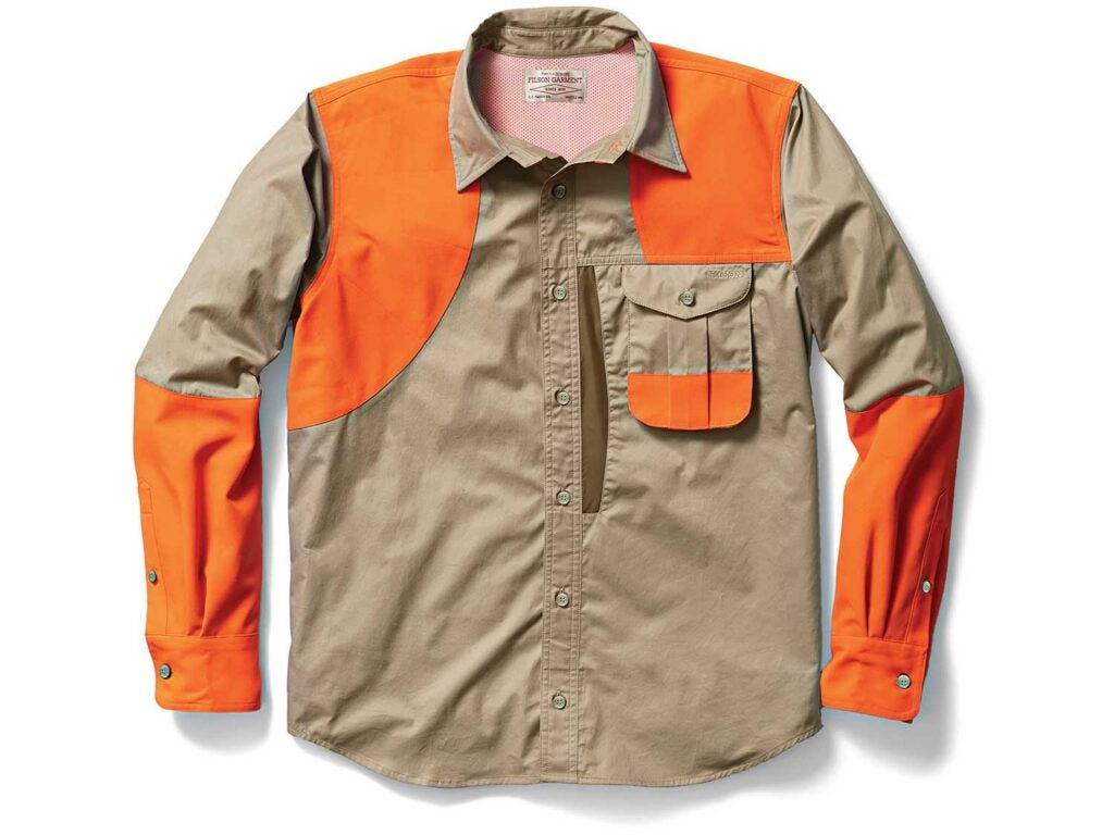 Filson's Frontloading Right-Handed Shooting Shirt