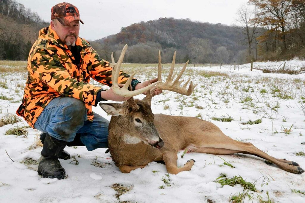 Tim Johnson's buck has 15 scorable points and green-scored 184 B&C.