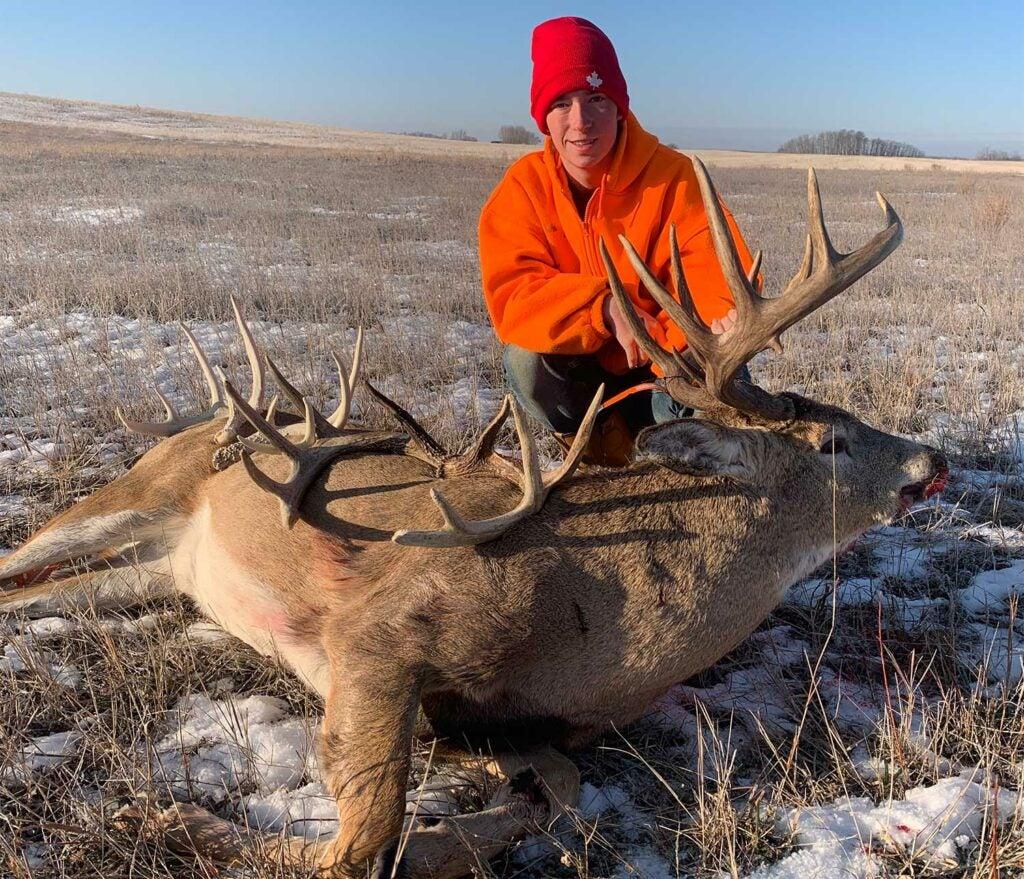 Austin Avramemko took this gorgeous Saskatchewan buck on November 21.