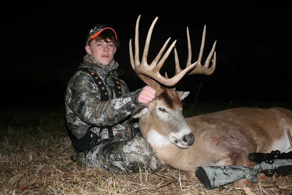 Jonah Boston took this 172-inch buck on November 24.