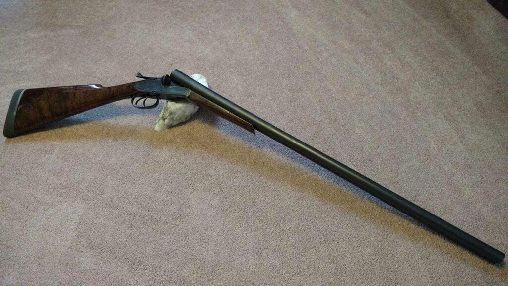 Tobin side by side shotgun.
