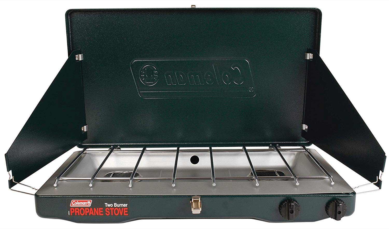 classic Coleman camp stove