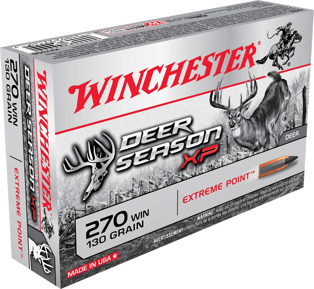 Winchester's Deer Season XP in .270 Winchester.
