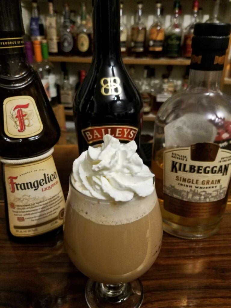 The Nutty Irishman cocktail.