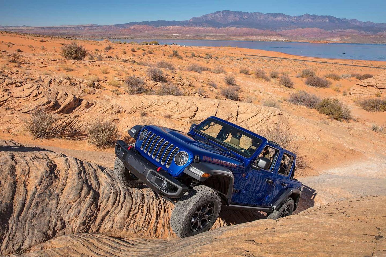 The new 2020 Jeep Wrangler