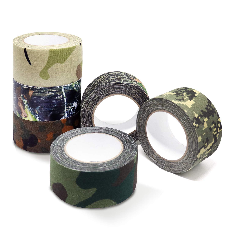 rolls of camoflauge tape.