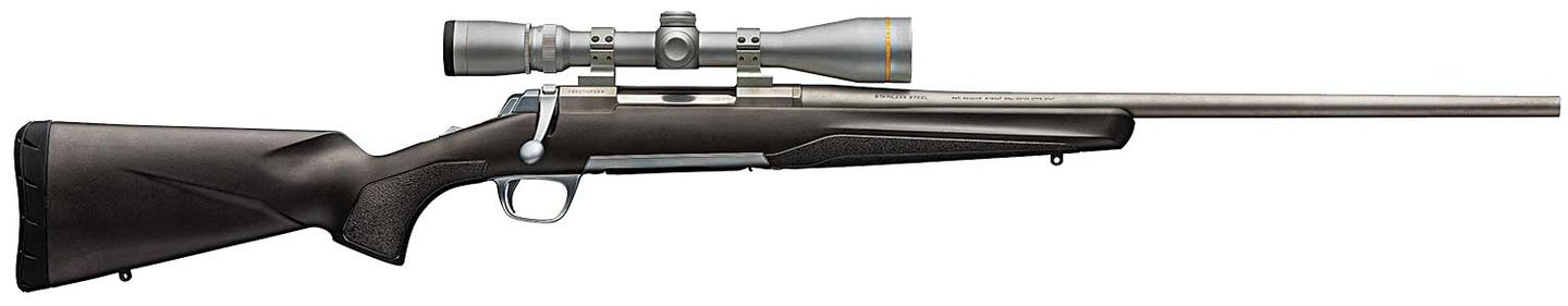 A Browning X-Bolt rifle chambered in 6.5 Creedmoor