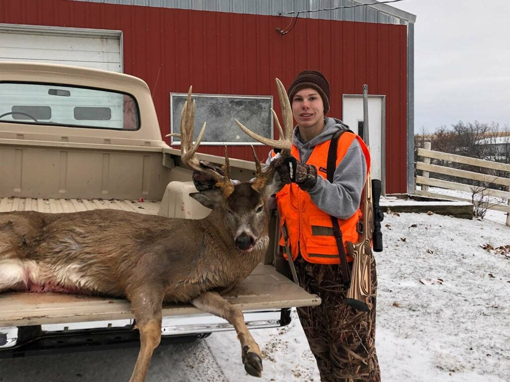 Kolton Ketelson's gross Booner ended a four-year history with the buck.