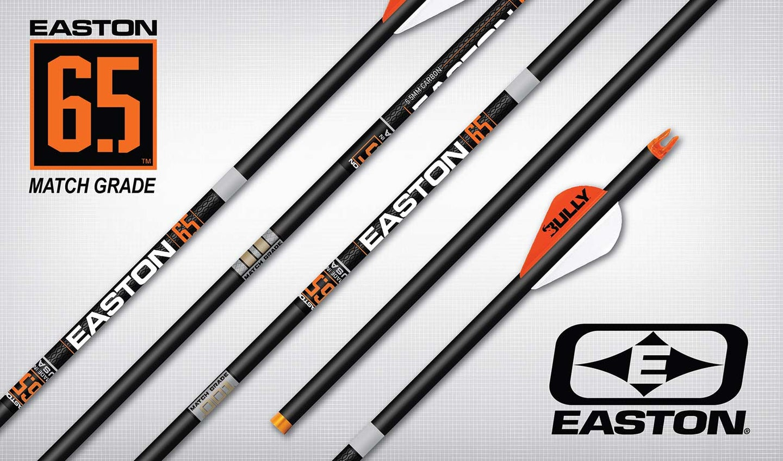 Easton's new 6.5 Match Grade carbon arrow.