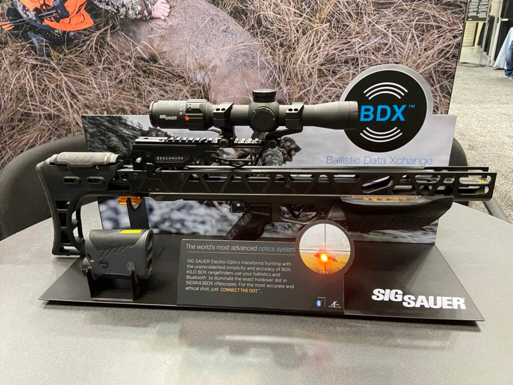 Sig Sauer BDX Crossbow System at the 2020 ATA show.