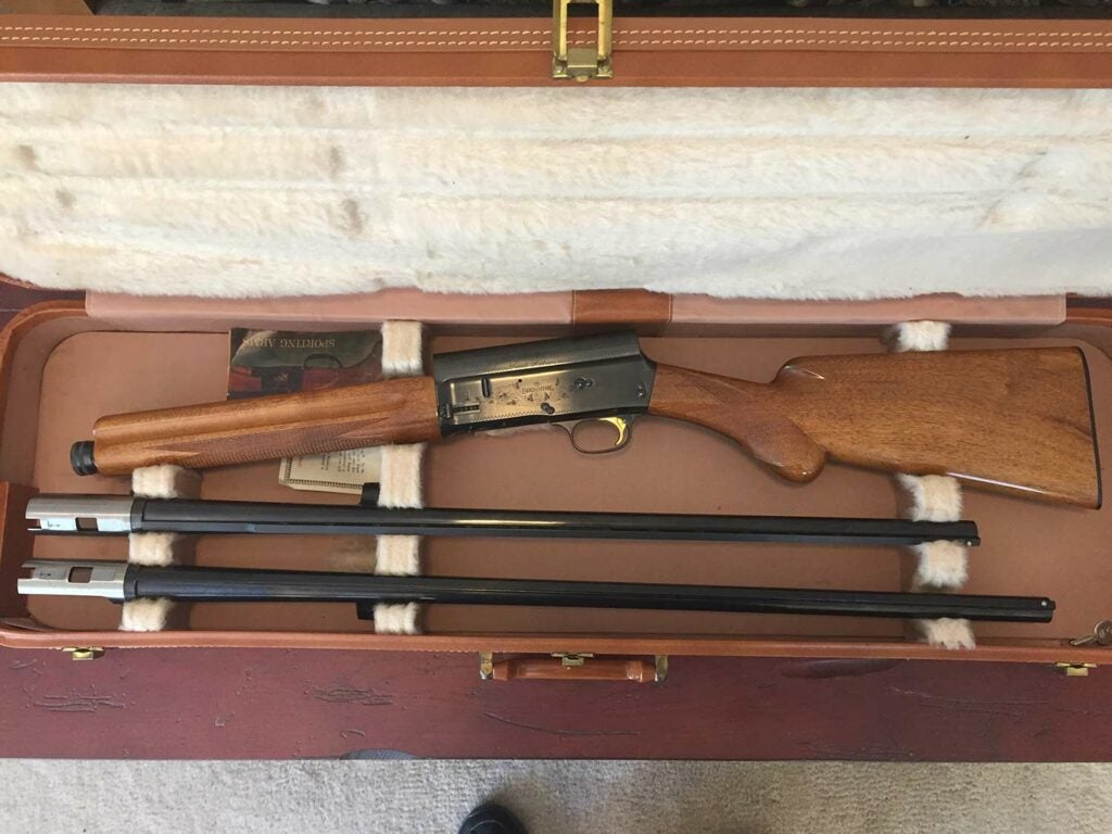 A Browning Auto 5 Sweet 16.