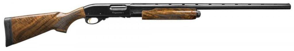 The Remington 870 Wingmaster Claro.