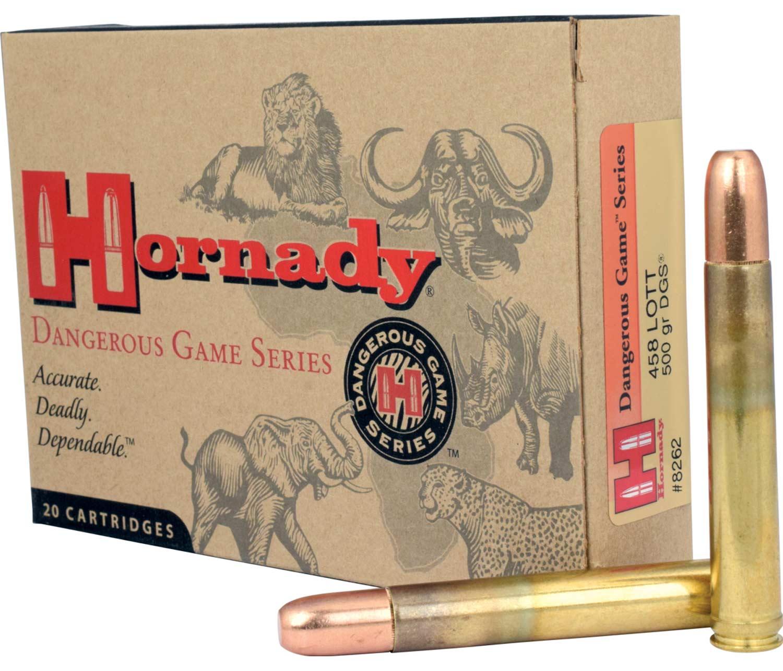 Hornady .458 Lott ammo