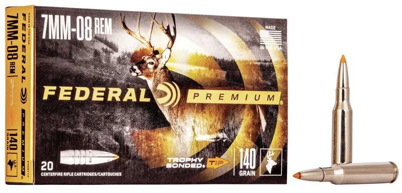 Federal Premium 7mm-08 ammo