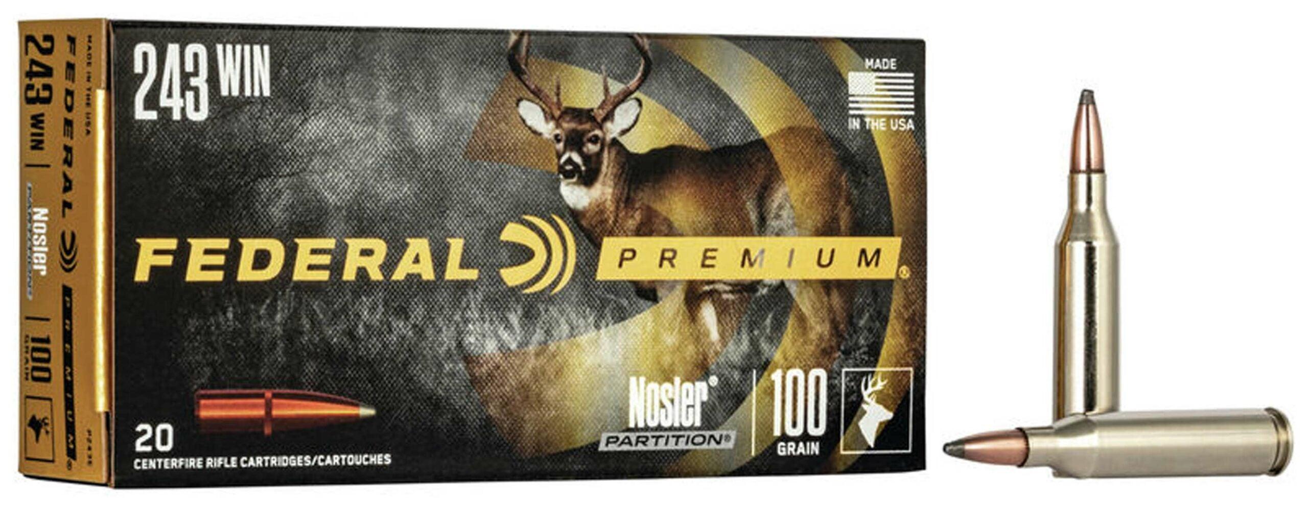Federal Premium .243 Winchesteer ammo