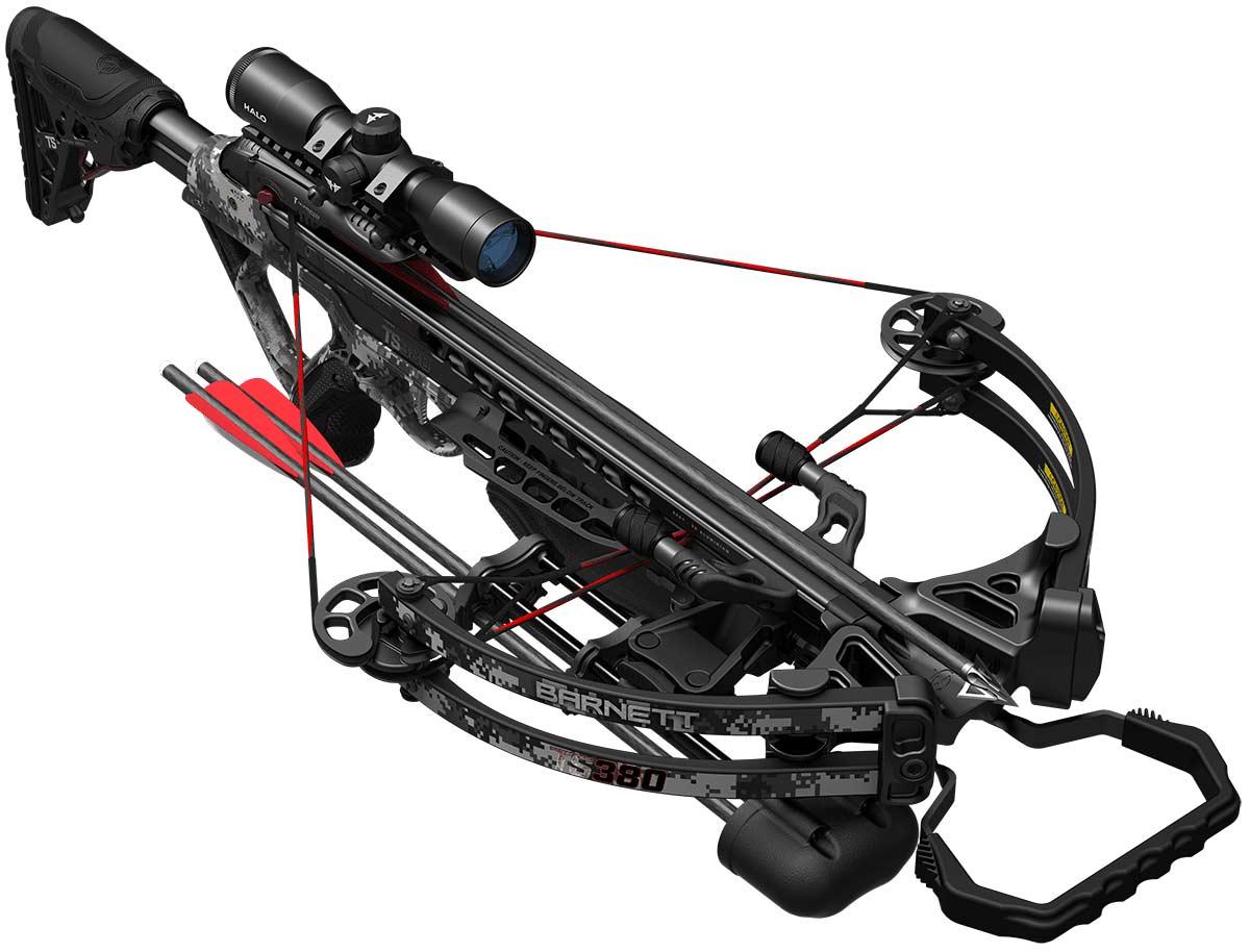 The Barnett TS380 crossbow.